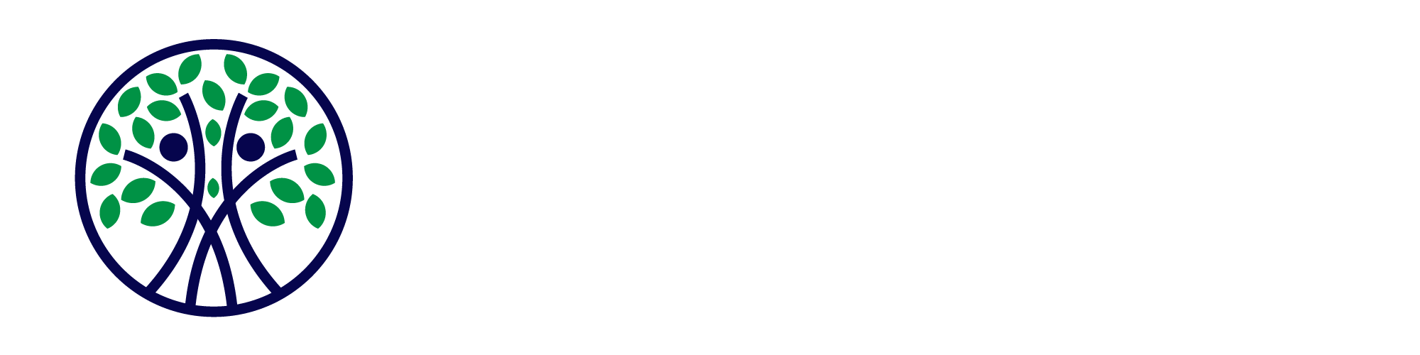Never Say Invisible - Logo White